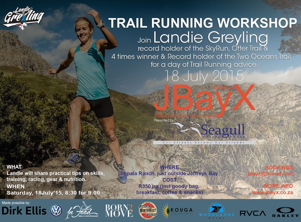 Trail Running Workshop: 18 July – Jeffreys Bay