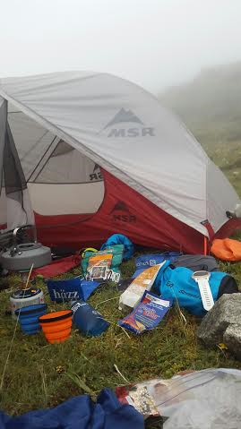 Tent with  all goodies