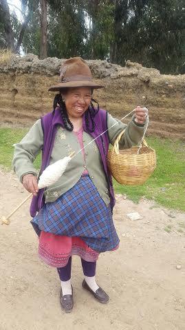 local peru lady