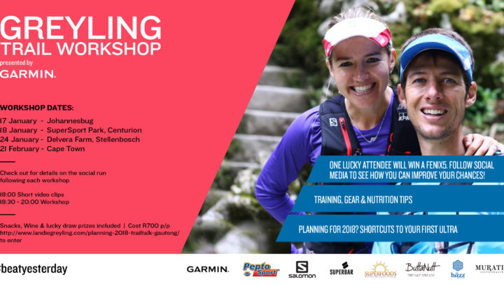 2018 Trail Running Workshops