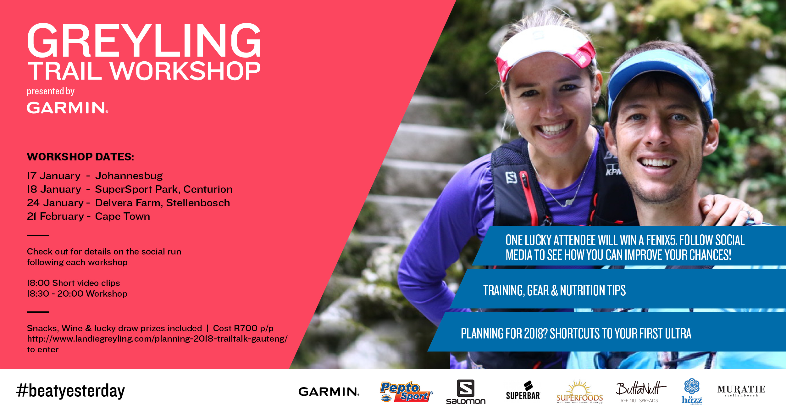 2018 Trail Running Workshops
