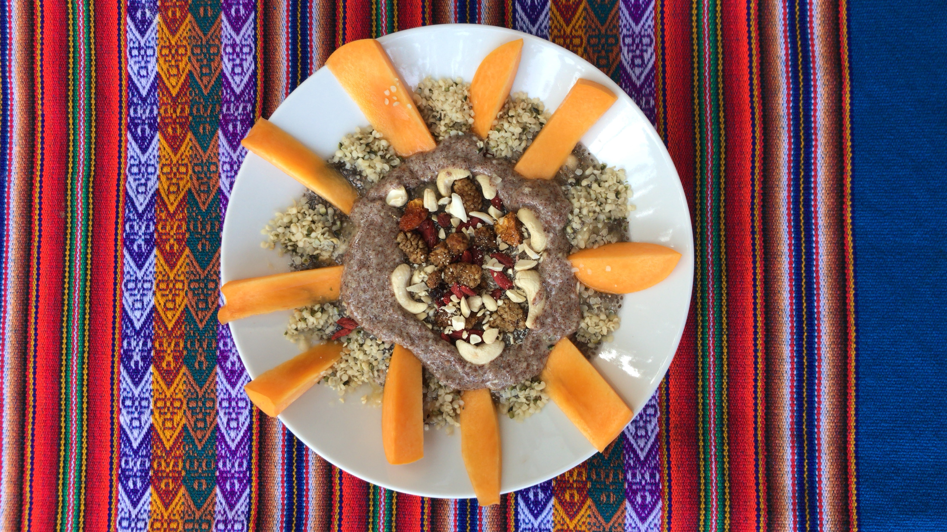 Chia breakfast bowl